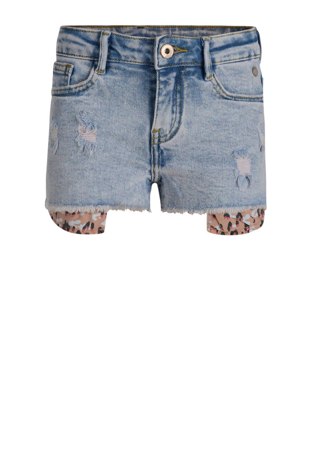 JILL MITCH jeans short light denim, Light denim