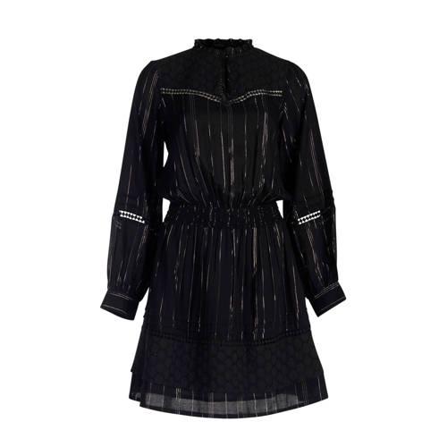 Eksept by Shoeby gestreepte jurk zwart