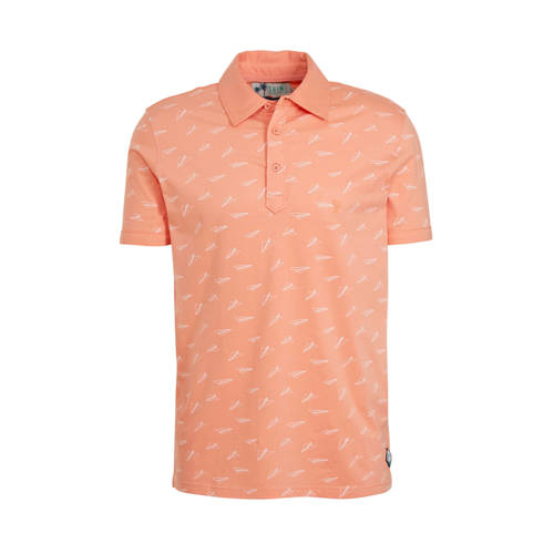 Shiwi slim fit polo zalm