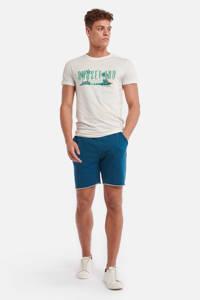Shiwi T-shirt met printopdruk wit, Wit