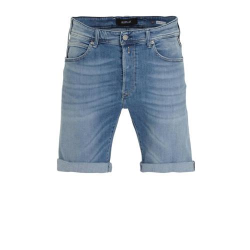 REPLAY regular fit jeans short light blue
