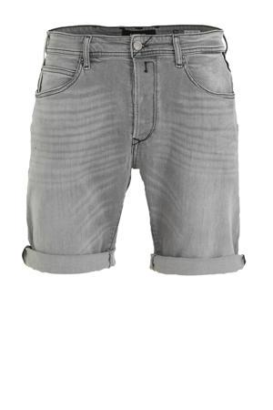 regular fit jeans short light grey