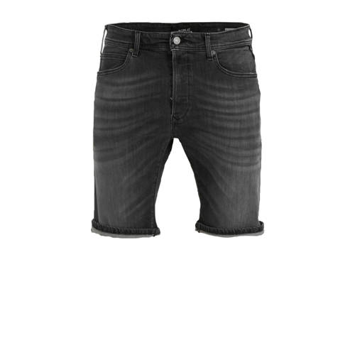 REPLAY slim fit jeans short black