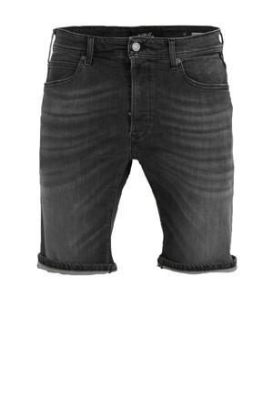 slim fit jeans short black