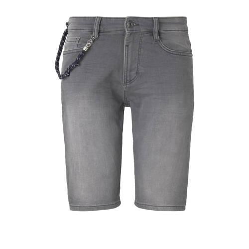 Tom Tailor regular fit jeans short grijs