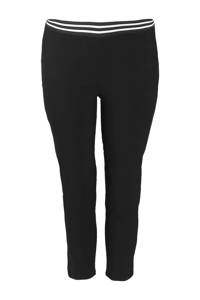 Paprika skinny broek zwart, Zwart