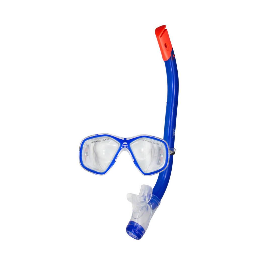 Rucanor snorkelset voor kids lichtblauw
