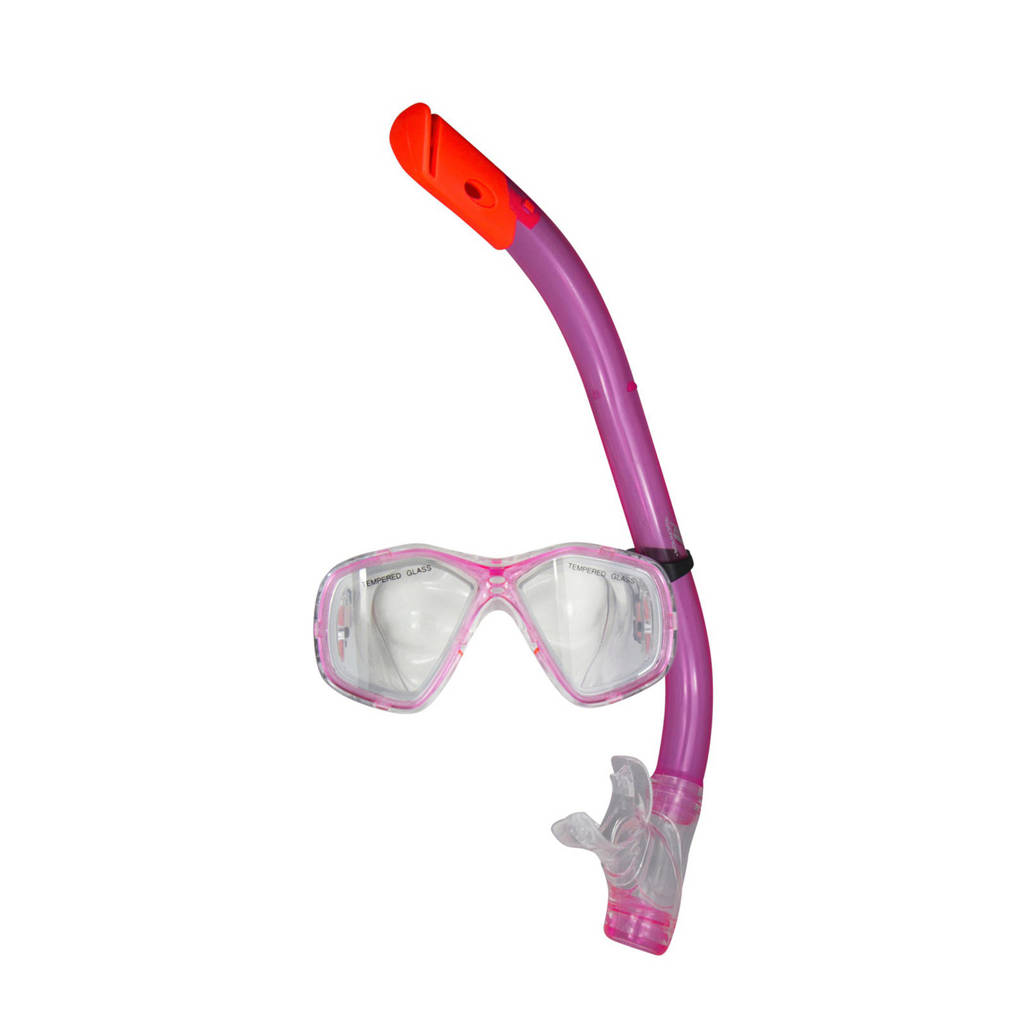 Rucanor snorkelset voor kids roze