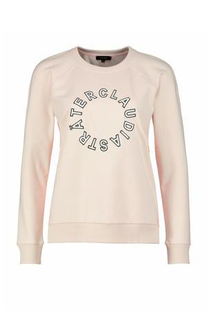 T-shirt printopdruk beige