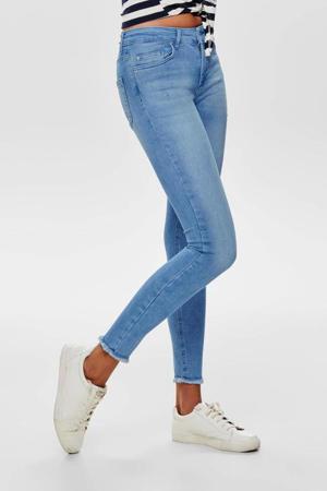 high waist skinny jeans ONLBLUSH light blue denim
