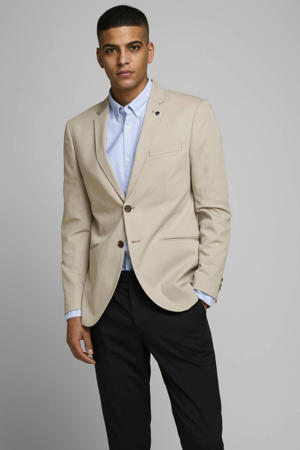 slim fit colbert beige