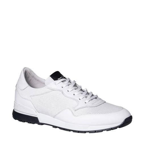 Van Lier 2017507 leren sneakers wit