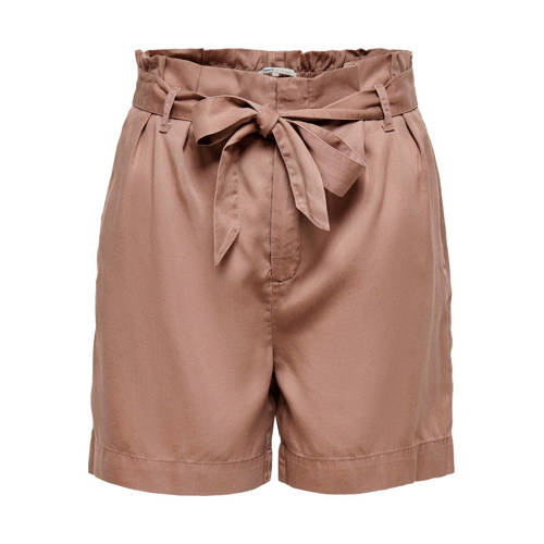 ONLY high waist straight fit short bruin
