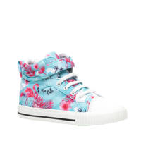 Scapino Blue Box   hoge sneakers blauw/roze, Blauw/roze