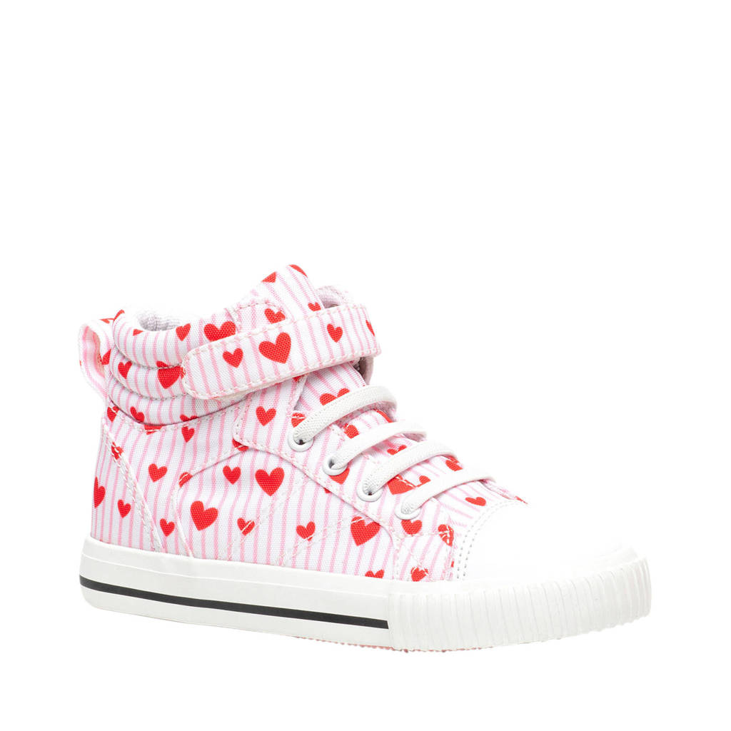 Scapino Blue Box   hoge sneakers roze/rood, Roze/rood