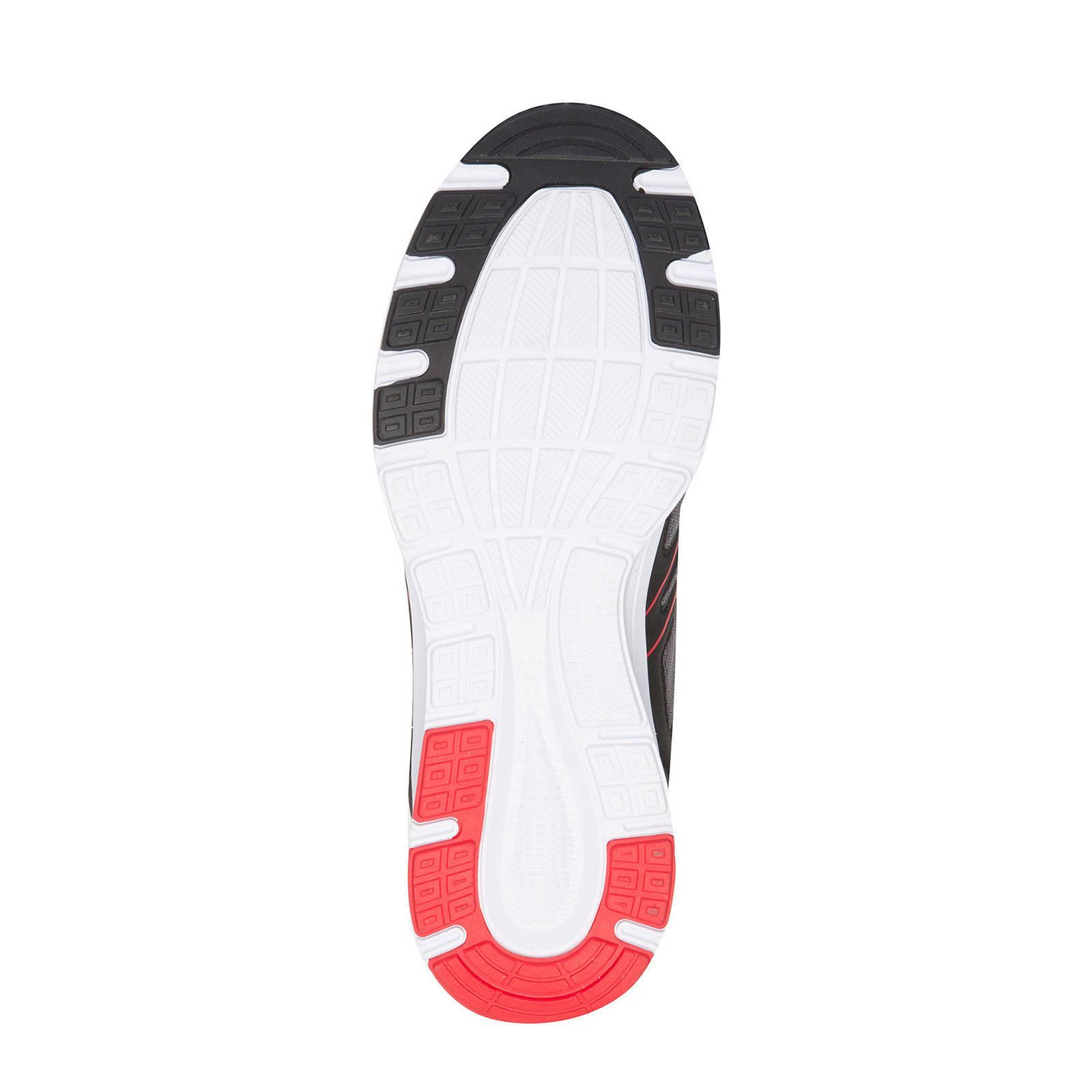 Scapino Osaga Pro hardloopschoenen zwartrood | wehkamp