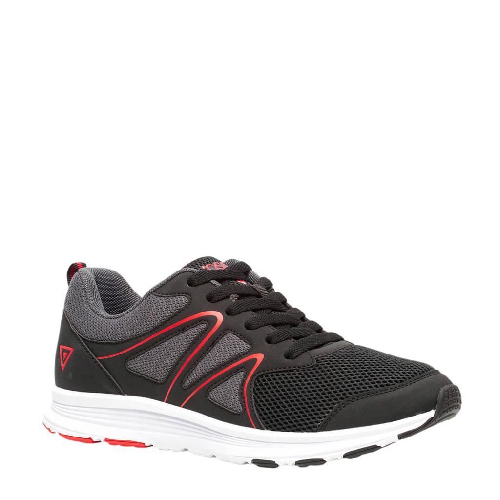 Scapino Osaga Pro   hardloopschoenen zwart/rood, Zwart/rood