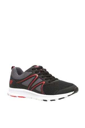 hardloopschoenen zwart/rood