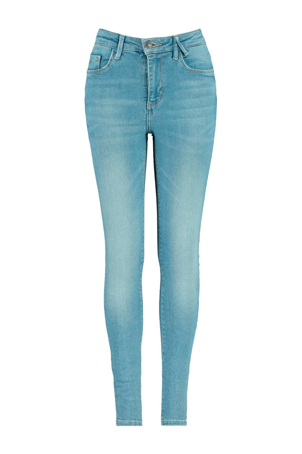 America Today Junior high waist skinny jeans light denim, Light denim