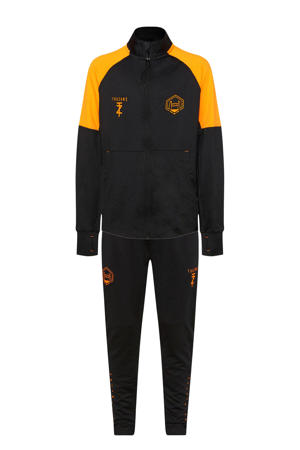 X Touzani trainingspak zwart/oranje