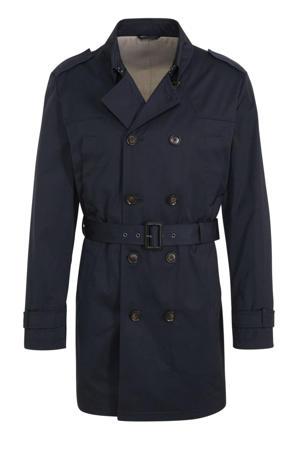 jas donkerblauw