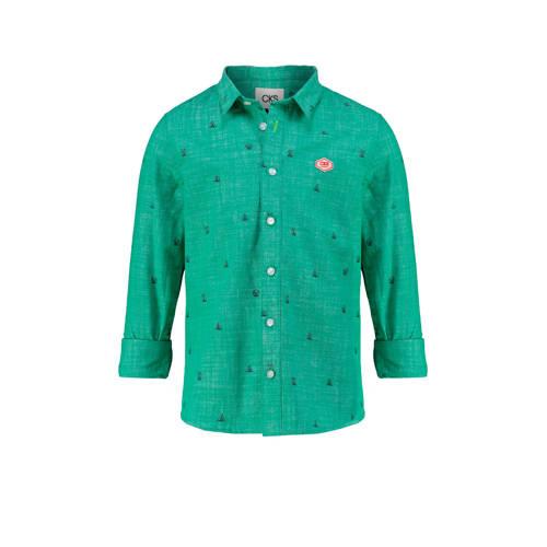 CKS KIDS overhemd Batan groen