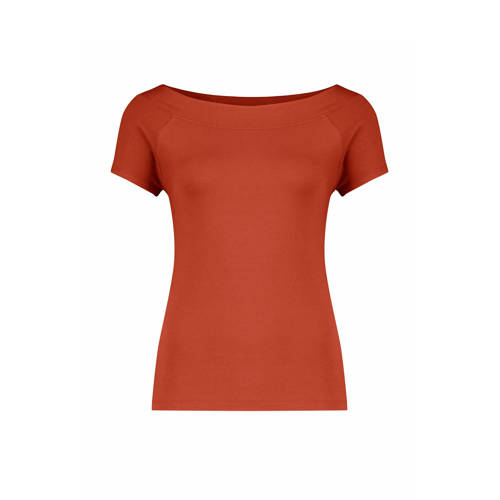 Claudia Str??ter T-shirt brique