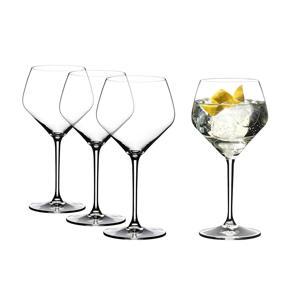 gin tonic glazen (set van 4)
