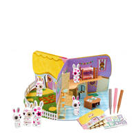 Fuzzikins 3D Pop-Up speelhuis, Wit