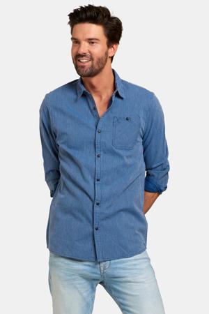slim fit overhemd blue