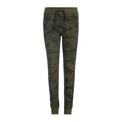 JILL MITCH joggingbroek Bravey met camouflageprint