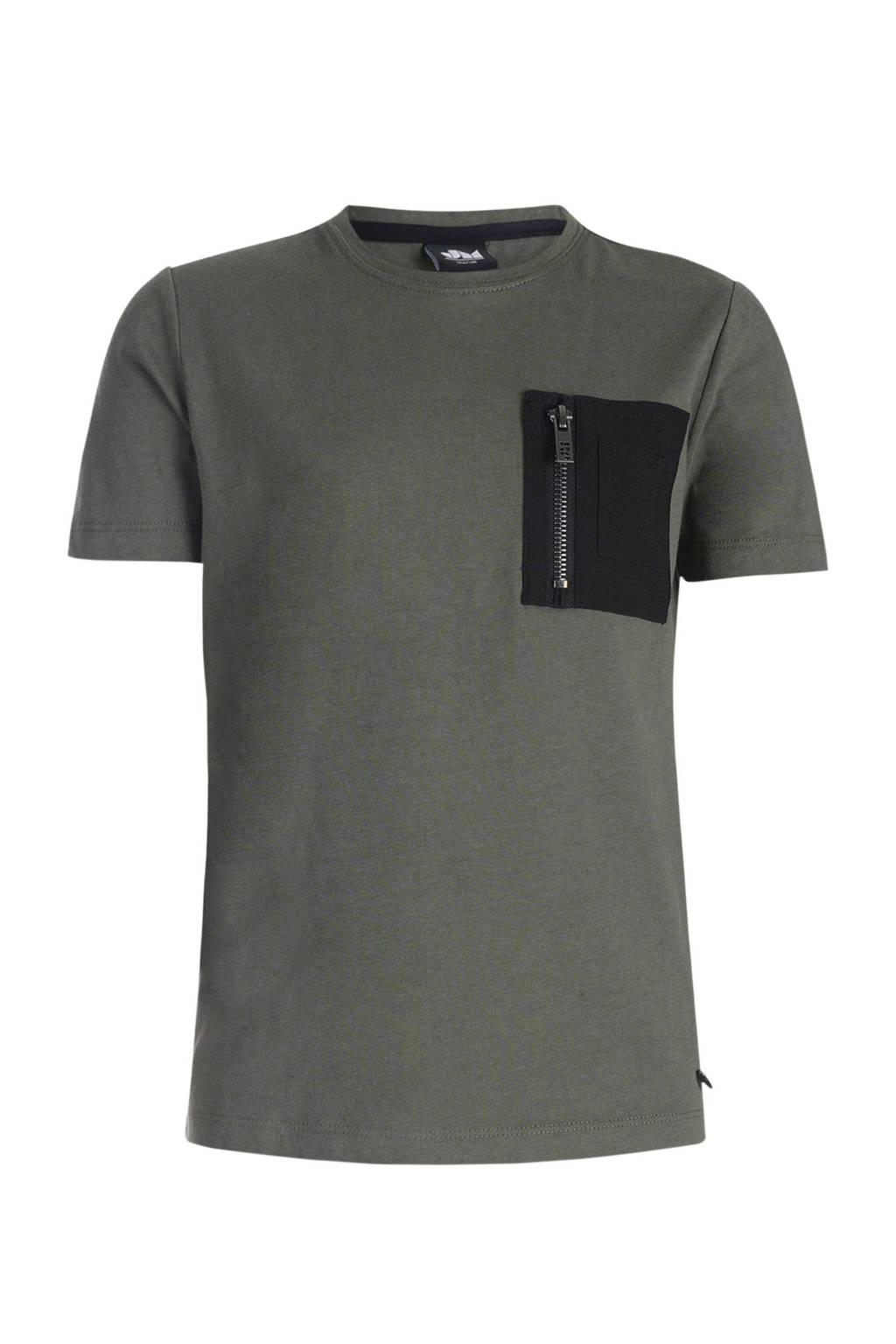 Mitch T-shirt Brody armygroen, Armygroen