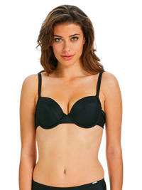 Sapph beugel bikinitop Alectrona zwart, Zwart