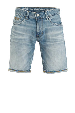 regular fit jeans short light denim