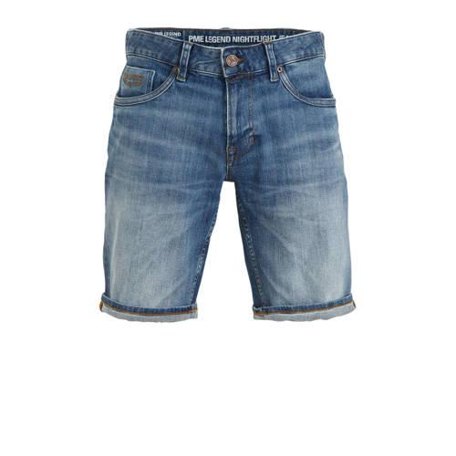 PME Legend regular fit jeans short stonewashed