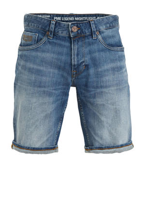 regular fit jeans short stonewashed