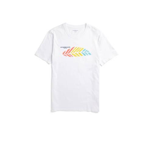 McGregor T-shirt met printopdruk wit