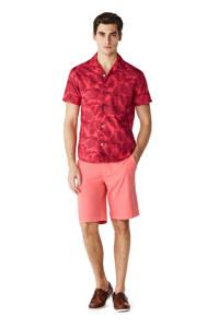 McGregor regular fit overhemd met all over print rood/roze, Rood/roze