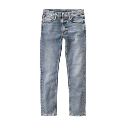 Nudie Jeans slim fit jeans blauw