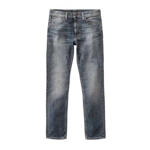 Nudie Jeans slim fit jeans Lean Dean broken city