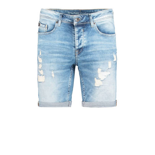 Garcia slim fit jeans short light denim