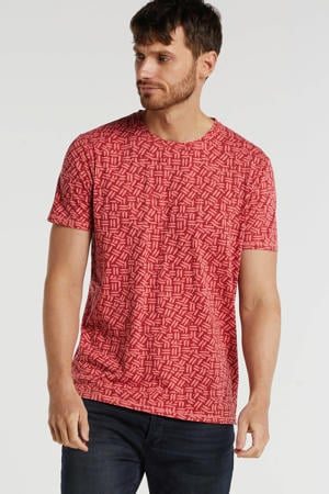 T-shirt met all over print guava