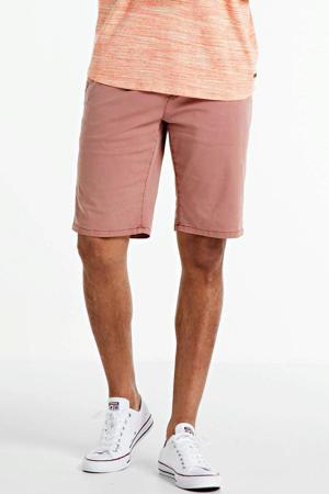regular fit chino short roze