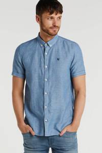 Garcia slim fit overhemd indigo, Indigo