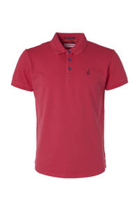No Excess regular fit polo donkerroze, Donkerroze