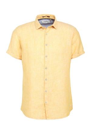 gemêleerd regular fit overhemd 190 sun
