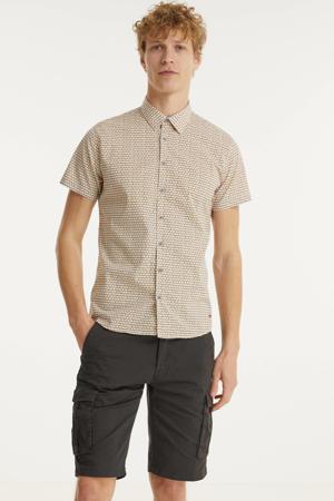 regular fit overhemd met all over print 190 sun