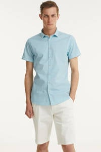 No Excess regular fit chino short wit, Wit