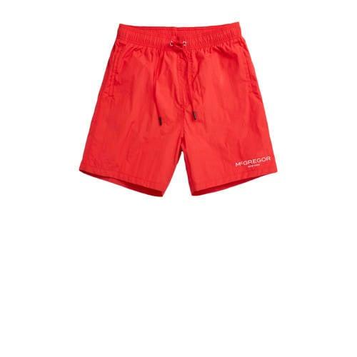McGregor zwemshort rood