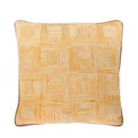 Riverdale sierkussen Stripe (45x45 cm), Geel